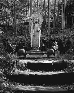 Buddha's Umbrella, Grave Marker