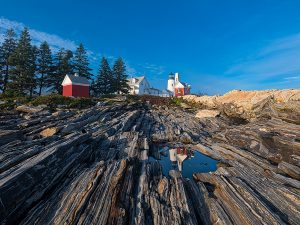 Pemaquid Light House, Reflection of the Past.