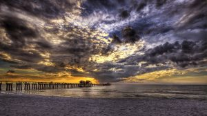 Naples Pier 1, Sunset, Naples, FL