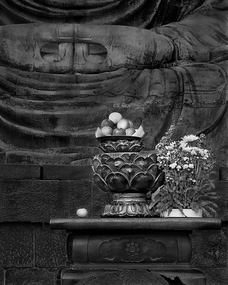 Buddha Offering, Kamakura, Japan