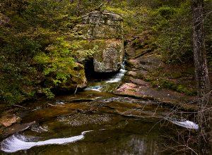 Azelia Falls, Front