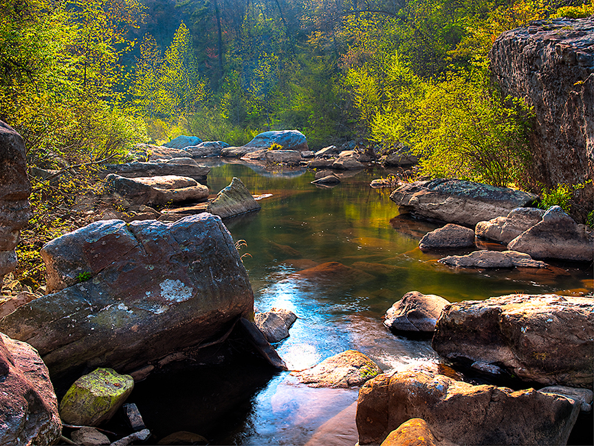Beaver Falls, Back Pool