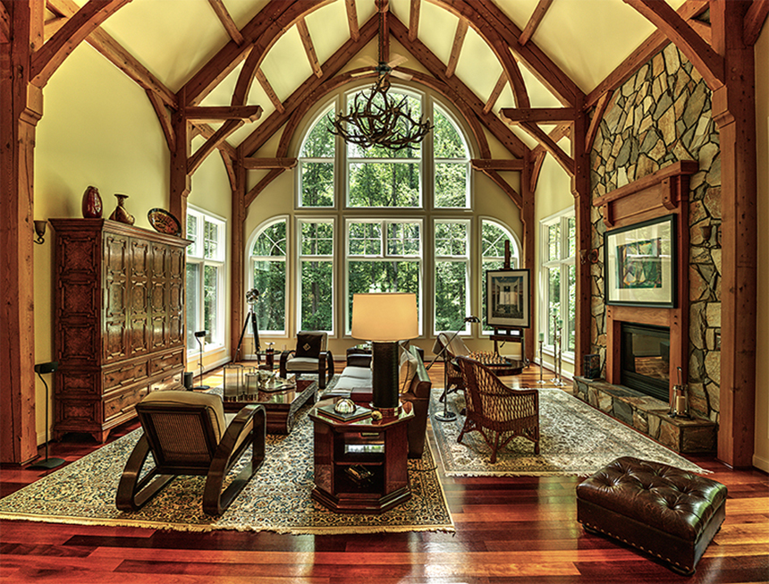 Governors Club Residence, Great Room, Chapel Hill, NC